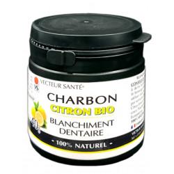 BLANCHIMENT DENTAIRE Charbon Citron
