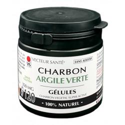 CHARBON & ARGILE VERTE
