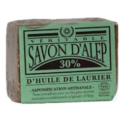 VERITABLE SAVON D'ALEP 30%