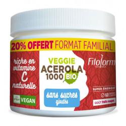 ACEROLA 1000 Bio sans Sucre Ajouté