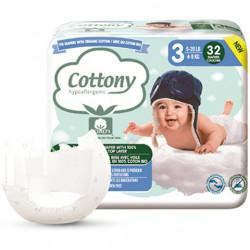 COUCHES Coton Bio T3 4-9 kg