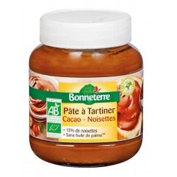 PATE A TARTINER Cacao Noisettes Bio