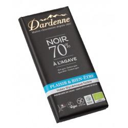 CHOCOLAT NOIR 70% à l'Agave