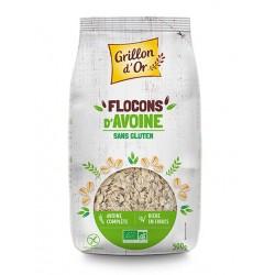FLOCONS D'AVOINE Bio sans Gluten